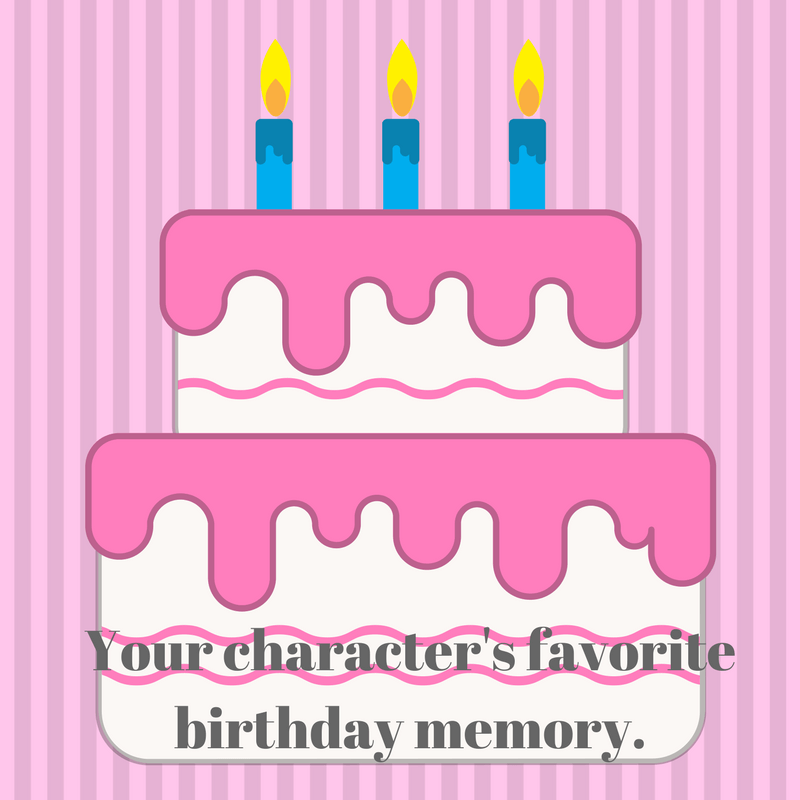 Wednesday Writing Prompt: Birthday