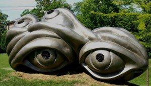 Eye Sculpture